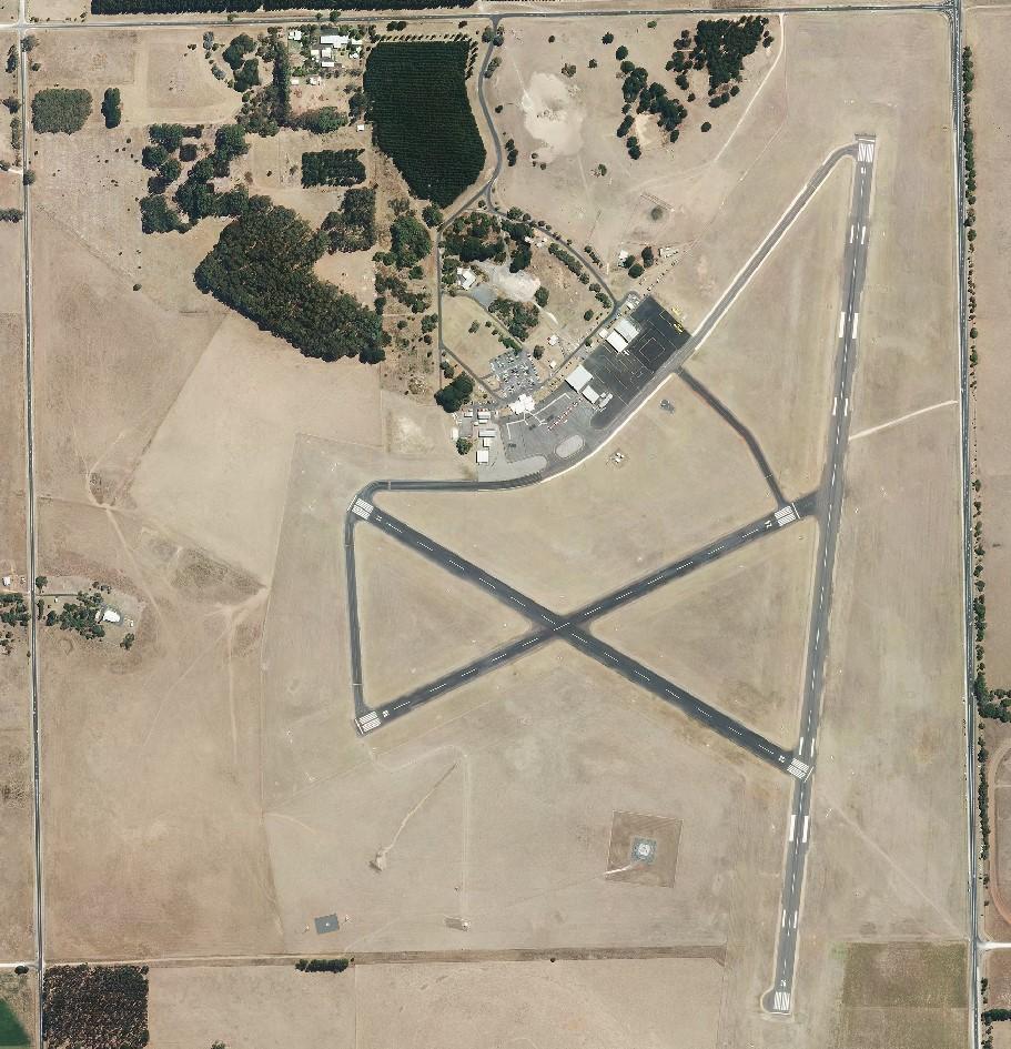 Mount Gambier Regional Airport Aerial